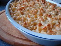 Makarony se sýrem - Můj blond blog
