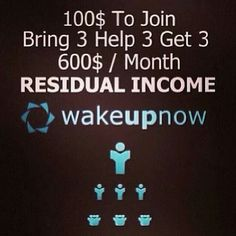 That's how simple it is.. #invest in your future and see what it brings you www.alpinkerton.wakeupnow.com