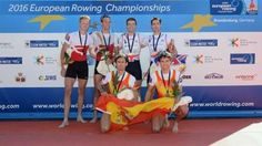 El Equipo Nacional de remo regresa del Europeo con una medalla de bronce
