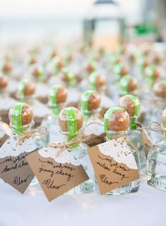 Keep The Party Going With These Boozy Wedding Favors