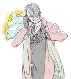 OML looking at this picture makes me thing what if Victor wants to propose to Yuri and he's waiting... ( I might make a one shot on this)