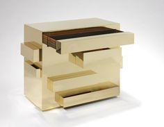 Paris based furniture designerMattia Bonetti,treat furniture as sculpture. His provocative designs are represented by David Gill Galleries.