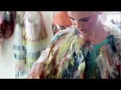 Jane Bowler. Spring/Summer 2012. behind the scenes - YouTube