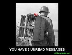 military-humor-funny-joke-soldier-army-3-unread-messages-carrier-pigeons