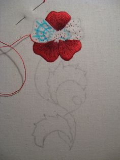 Silk shading embroidery kit 1