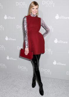 Jaime King Showed Off Baby Bump at Dior