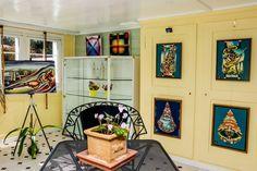 ☺️ Ausstellung im Kehr in Gais / RZ © 2020 😊 Bookcase, Gallery Wall, Shelves, Home Decor, Art, Atelier, Artworks, Art Background, Shelving
