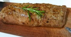 Šťavnatá a jemná bravčová panenka: Triky, ako ju pripraviť Good Food, Pork, Food And Drink, Turkey, Meat, Chicken, Kitchen, Morning Coffee, Roast Beef