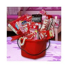 Valentine's Day Hearts Gift Basket « Delay Gifts