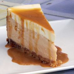 Dulce de Leche Cheesecake - this was delicious and baked so perfectly! Really looked professional but this did take a lot of time and effort. Worth it!