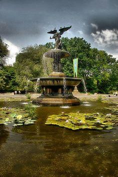 Fountain Central Park - New York City, NY