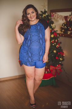 look plus size shortinhos 3