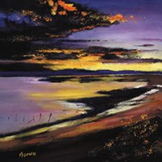Art Prints Gallery - Cree Estuary Sunset (Limited Edition), £125.00 (http://www.artprintsgallery.co.uk/Davy-Brown/Cree-Estuary-Sunset-Limited-Edition.html)