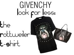 Titolo GIVENCHY Look For Less  #whattowear #fashion #aloserlikeme #fashionideas #inspiration #fashioninspiration #fashion #blogger #fashionblogger #lookforless #thelookforless #cheapalternative #givenchy #rottweilertshirt #rottweilershirt #rottweiler
