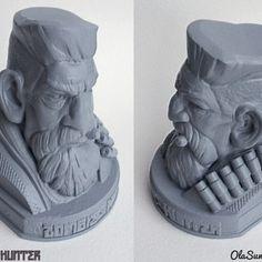 3D printing Zombie Hunter 2016, Sculptor