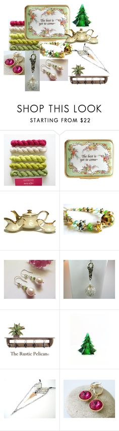 """""""The Best is Yet to Come"""" by inspiredbyten ❤ liked on Polyvore featuring Halcyon Days, Verso and vintage"""