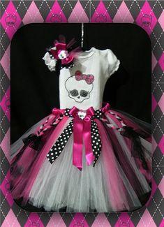 Conj; Monster High inspirado Draculaura   Só Meninas 73   382907 - Elo7