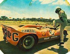 1968-Killarney 3h du cap-350 Canam-Hawkins-0858 Paul Hawkins - Lola T70 Mk.3 GT Chevrolet - Paul Hawkins Racing - Cape Town 3 hours - 1968 South African Sports Car Championship, round 1