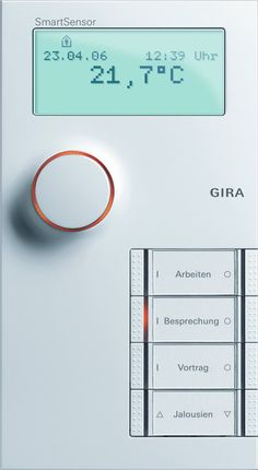 Gira 1246661 SmartSensor 4-fach KNX EIB, reinweiß: Amazon.de: Baumarkt