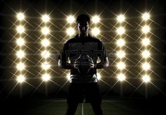 silhouette rugby ball photography - Google Search