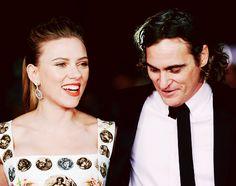 Scarlett Johansson, Joaquin Phoenix - Her premiere, Rome Film Festival, 2013