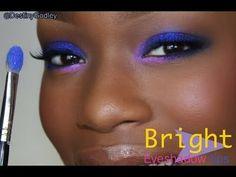 bright eye makeup by destiny godley Black Girl Makeup, Girls Makeup, Love Makeup, Makeup Tips, Beauty Makeup, Makeup Looks, Hair Makeup, Beauty Tips, Awesome Makeup