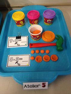 Introduction à la soustraction 1st Grade Math, Kindergarten Math, Teaching Math, Math Games For Kids, Activities For Kids, Stem Activities, Math Addition, Addition And Subtraction, School Organisation