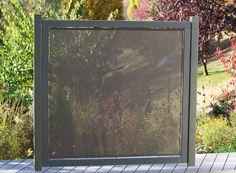 Fendivista, frangivento, legno in giardino, protezione della sfera privata... • Braun & Würfele