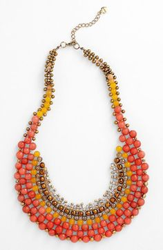 Nakamol Design Beaded Necklace - Nordstrom - http://shop.nordstrom.com/S/nakamol-design-beaded-necklace/3519402?origin=category=Necklaces
