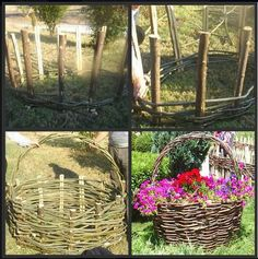 I was thinking that this would make an excellent brooder for the new chicks or for an injured one to be able to be out in the yard with everyone else.  Just make one side higher than the other and make a top with some chicken wire on a limb frame or ?  Will have to think about the top part.