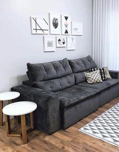 Living Room Bedroom, Interior Design Living Room, Living Room Designs, Living Room Decor, Bedroom Decor, Sala Grande, Mawa Design, Apartment Living, Home And Living