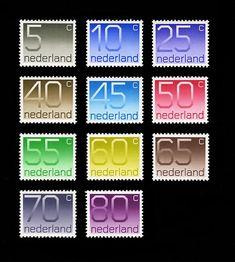 Oude Nederlandse postzegels
