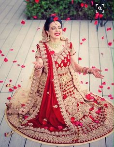 #Destination #wedding #candidate #pose #Red #Roses #flakes #Red #lehenga #gorgeous #smile #beautiful #bride #Retake & #Retake #Again & #Again #finally I #found #what I #want #captured by ZARA PHOTOGRAPHY