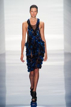 See It in 3D Vera Wang S/S 2014.