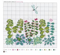 Cross Stitch Designs, Cross Stitch Patterns, Christmas Embroidery Patterns, Charts And Graphs, Patterns In Nature, Cross Stitch Flowers, Le Point, Cross Stitch Embroidery, Hand Stitching