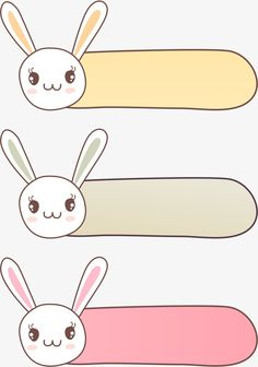 Little Rabbit Border, Vector, Cartoon, Hand Painted PNG and Vector Boarder Designs, Page Borders Design, Fond Design, Artsy Background, Powerpoint Background Design, School Labels, Framed Wallpaper, Cute Frames, Cute Notes
