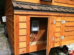 inside tiny living shed   Tiny House Plans and Construction Book Sale with Dan Louche