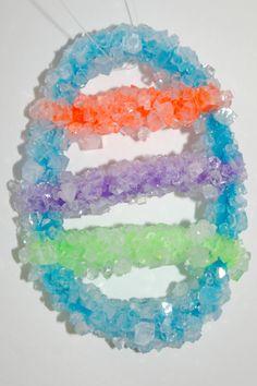 Crystals form using Borax.  cool!