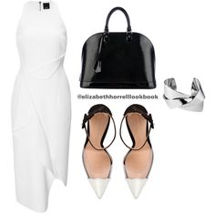 Liz by elizabethhorrell on Polyvore featuring Josh Goot, Gianvito Rossi, Louis Vuitton and Whistles