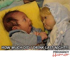 20 Funny Baby Pictures to Help You Forget About Your Morning Sickness and Swollen Ankles - Page 2 of 20 - Pregnancy Humor