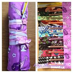 Pencil Rolls, available from https://www.facebook.com/GigiHandcraft