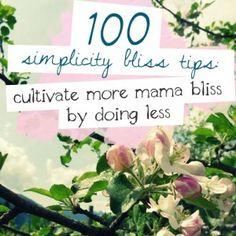 100SimplicityBlissTips_500x500