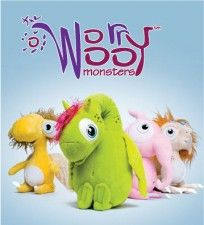 WorryWoo Monsters. Winner of Fat Brain Toy Award and iParenting Media Awards