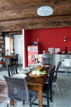 unpolished life: Casual kitchens