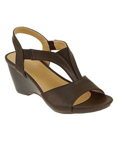 5b2def4163c9 Chocolate T-Strap Aconga Sandal  zulily  zulilyfinds T Strap