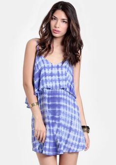 Dream World Tiered Tie-Dye Dress - $42.00 : ThreadSence, Women's Indie & Bohemian Clothing, Dresses, & Accessories