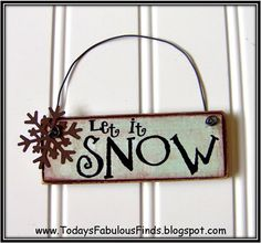 Today's Fabulous Finds: Printable Paint Stick Ornaments {Tutorial}