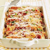 Turkey Enchiladas. In just 30 minutes, the entire family can be enjoying these healthy and hearty turkey enchiladas.