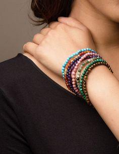 Mini Gemstone Energy Bracelets