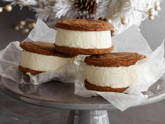 Day 2 of #12DaysOfCookies: Guy Fieri's Gingersnap Stackers